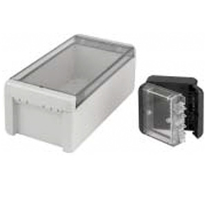 Bocube Enclosure - Pro Range Polycarbonate Crystal Clear Lid Enclosure from The Enclosure Company