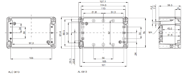 EURONORD AL 0813 Enclosure Schematic from The Enclosure Company