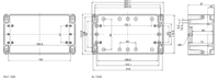 EURONORD AL 1222 Enclosure Schematic from The Enclosure Company