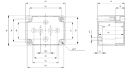 EURONORD PC / ABS 0507 Enclosure Schematic from The Enclosure Company