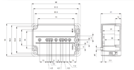 EURONORD PC / ABS 0710 Enclosure Schematic from The Enclosure Company