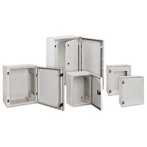 Enclosures on lockable cabinet