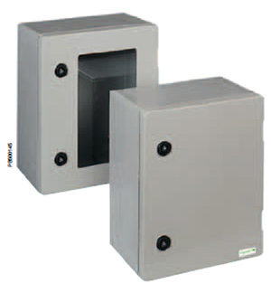 High quality wall mounting enclosures. Pro Range. Polyester wall-mounting enclosures 308x255mm IP 66 Enclosure from The Enclosure Company