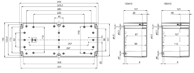 EURONORD PC / ABS 1534 Enclosure Schematic from The Enclosure Company