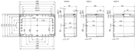 EURONORD PC / ABS 1625 Enclosure Schematic from The Enclosure Company