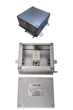 Fire rated Enclosures - Stainless steel Enclosure from The Enclosure Company