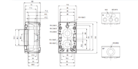 MCE PC 5 Enclosure Schematic from The Enclosure Company