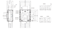 MCE PC 9 Enclosure Schematic from The Enclosure Company