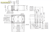 MNX PC / ABS 100H Enclosure Schematic from The Enclosure Company