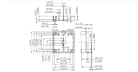 MNX PC / ABS 95 L Enclosure Schematic from The Enclosure Company