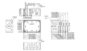 MNX PCM 150X Enclosure Schematic from The Enclosure Company