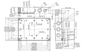 MNX PCM 200 Enclosure Schematic from The Enclosure Company