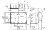 MNX PCM 200 X Enclosure Schematic from The Enclosure Company