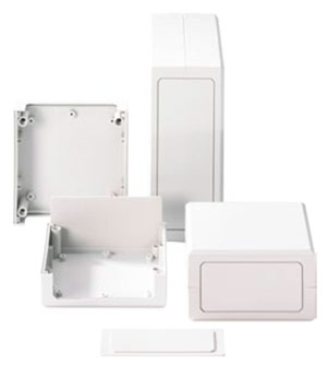 Multi-Plastic Quadro-Box Enclosure from The Enclosure Company