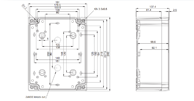 TEMPO ABS2419 Enclosure Schematic from The Enclosure Company