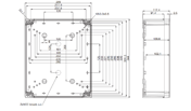 TEMPO ABS3429 Enclosure Schematic from The Enclosure Company